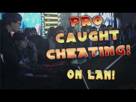 Pro Caught Cheating at Lan Tournament CS:GO