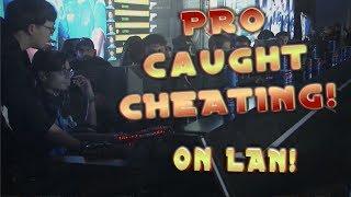Pro Caught Cheating at Lan Tournament CS:GO