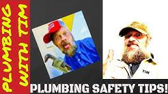 Plumbing Safety Tips