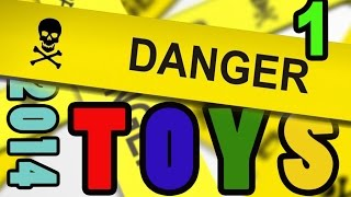 DANGER TOYS 2014 recalled toys - part ONE - Product Recall Dangerous Toys ALERT Kids Consumer Safety