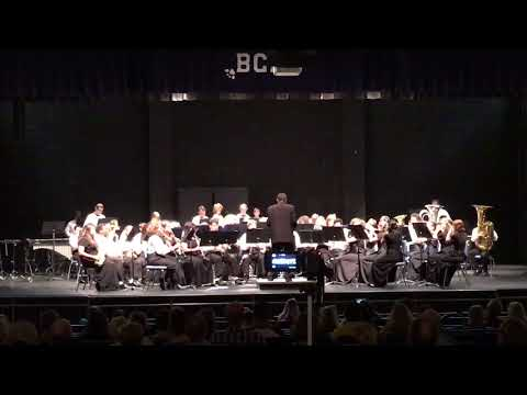 DAVID SHAFFER'S MT HOOD PORTRAIT PERFORMED BY BANKS COUNTY HIGH SCHOOL LEOPARDS BAND FALL CONCERT