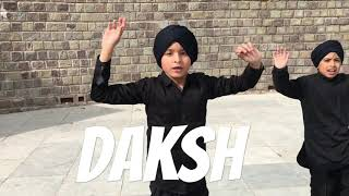 Pagg wala munda   diljit dosanjh   Bhangra by navneet kaur   best Bhangra by kids  