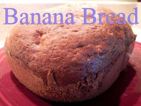 Banana Bread Recipe For Bread Machines