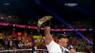 "John Cena After Payback ""The Champ Is Here"" - WWE RAW 17/06/2013"