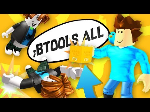 I Gave EVERYONE BUILD TOOLS and THIS HAPPENED... Roblox Admin Commands