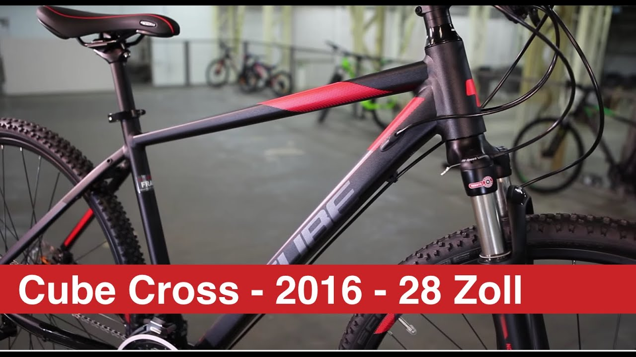 Cube Cross 2016 28 Zoll Youtube