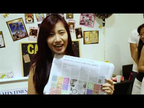 The very first The Straits Times Personalised Newspaper