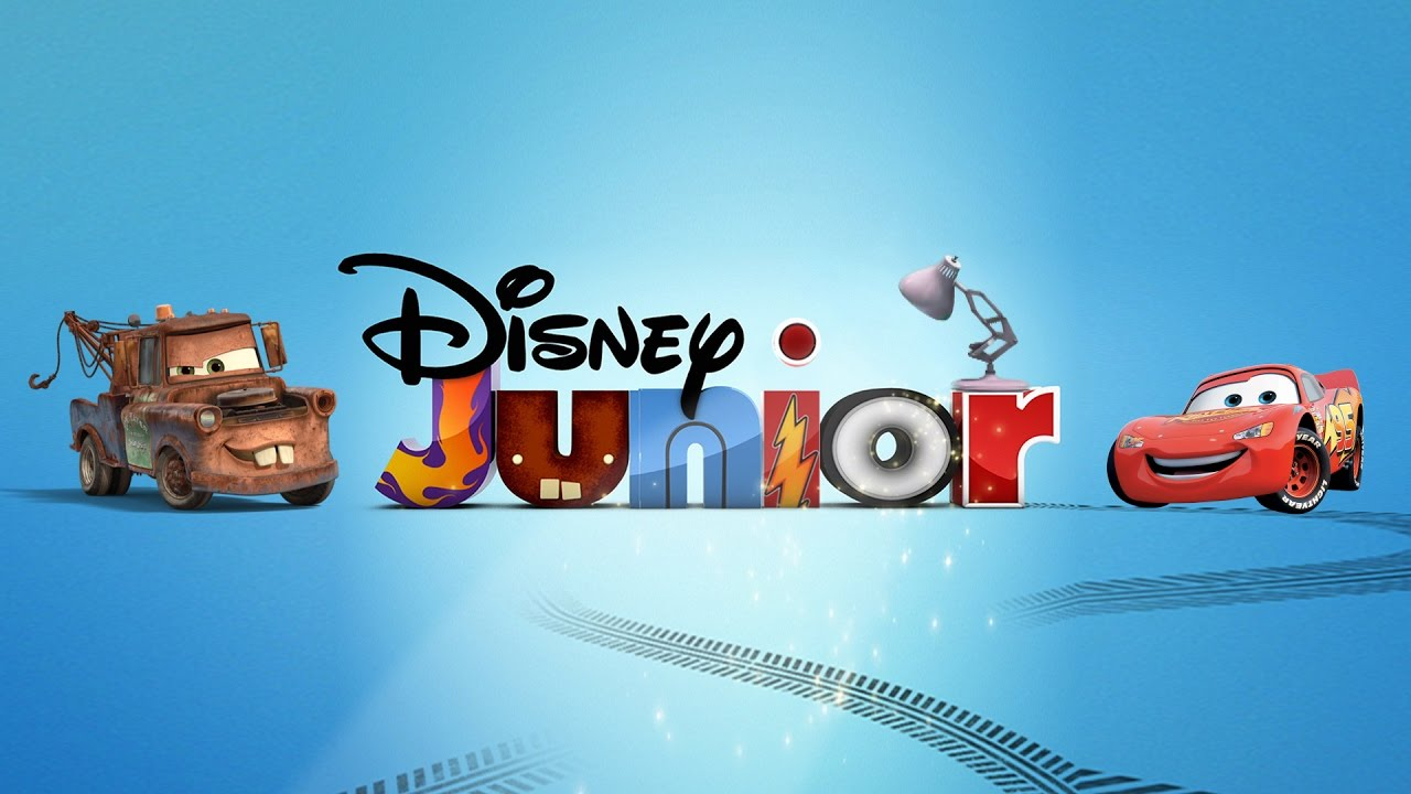 392 disney junior with cars movie spoof pixar lamp luxo jr logo