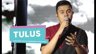 Video [HD] Tulus - Teman hidup, Sewindu, Pamit (Live at Kopi Good Day, Amongrogo Yogyakarta 2017) download MP3, 3GP, MP4, WEBM, AVI, FLV Oktober 2018