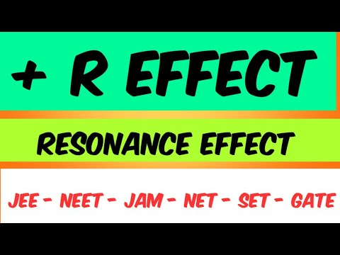 Resonance effect