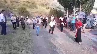 Gelin karşılama ve getirmede köyümüze has bıçak oyunu