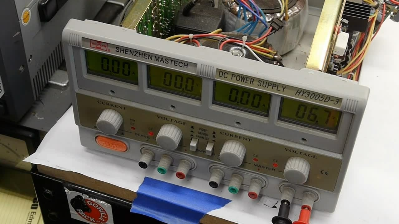 Repairing The 5v Output From A Mastech Hy3005d-3  Cheap Import  Power Supply