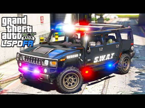 My SWAT Team HATED Me!! (GTA 5 Mods - LSPDFR Gameplay) thumbnail