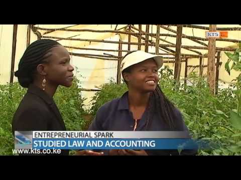 ENTREPRENEURIAL SPARK:  AgriBusiness in Greenhouses. prt1