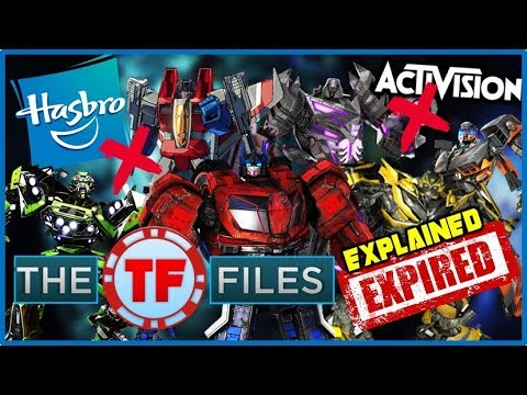 Hasbro-Activision Contract Expired Transformers Games EXPLAINED - The TF Files