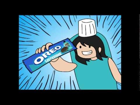 Iklan Oreo rasa Listerine