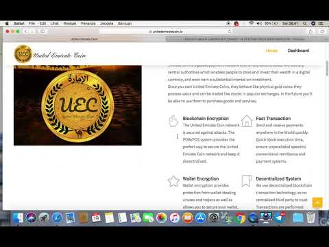 United Emirate Coin|| UEC|| Berpotensi Scam