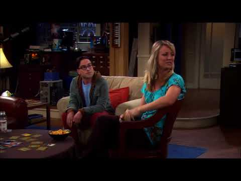 The Big Bang Theory - Penny plays Mystic Warlords of Kaah card game