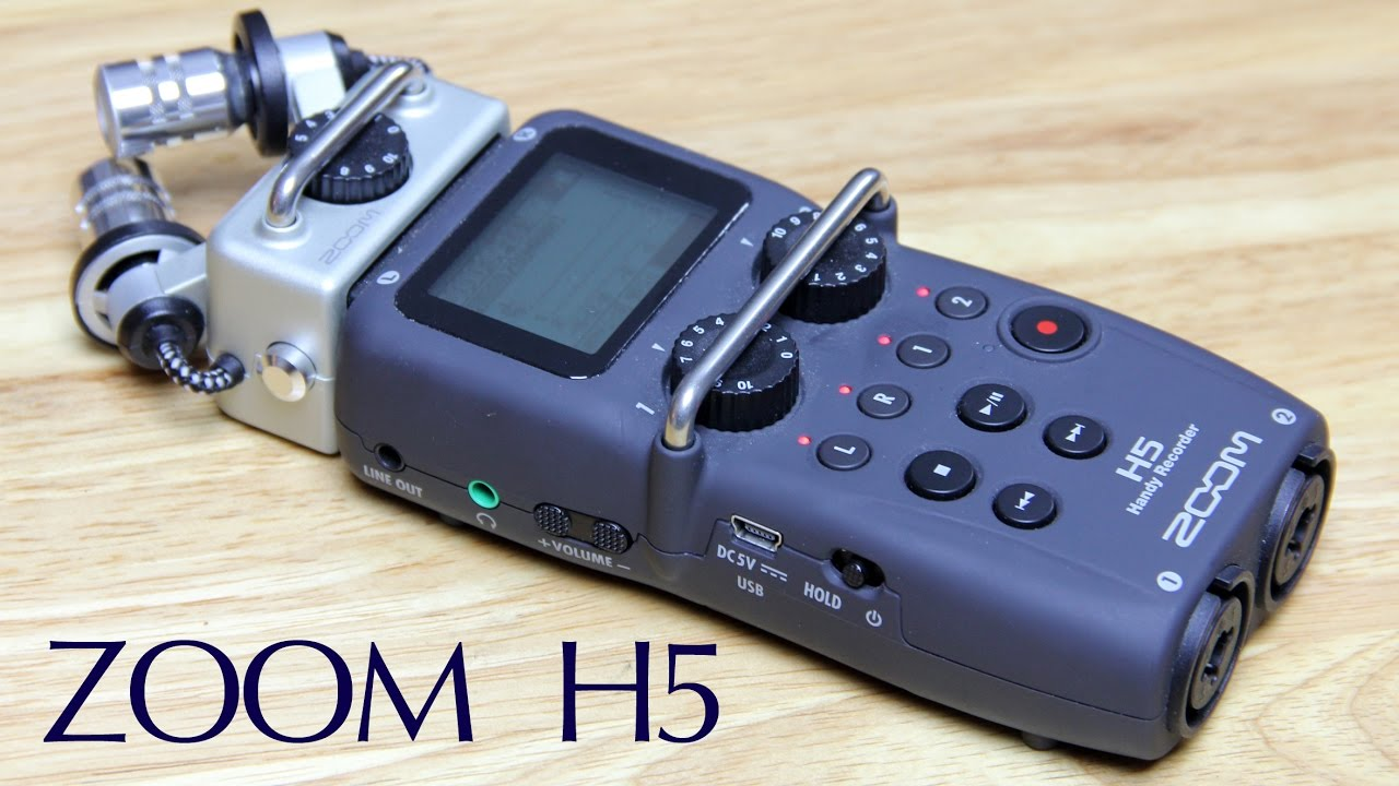 Zoom H5 Review: Handy Portable Audio Recorder
