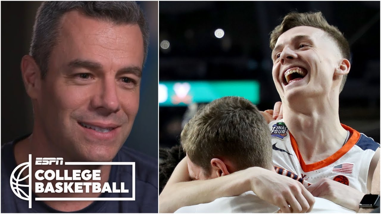 Virginia's Tony Bennett talks Kyle Guy's FTs, title game vs. Texas Tech | College Basketball So