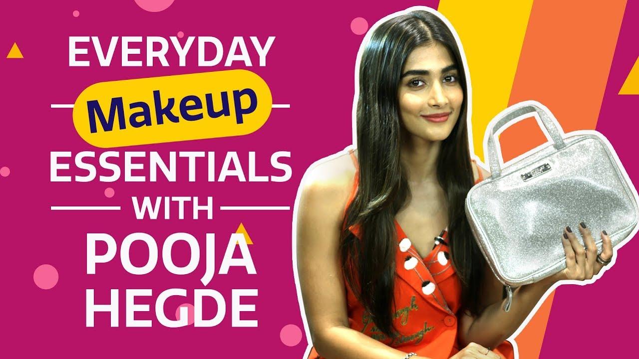 Pooja Hegde: What's in my makeup bag | Bollywood | Pinkvilla | Fashion
