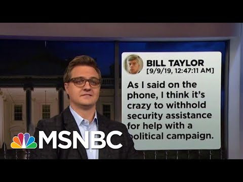 Chris Hayes On How The Text Messages Destroy Trumps Alibi  | All In | MSNBC