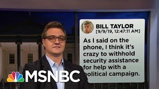 Chris Hayes On How The Text Messages Destroy Trump's Alibi  | All In | MSNBC