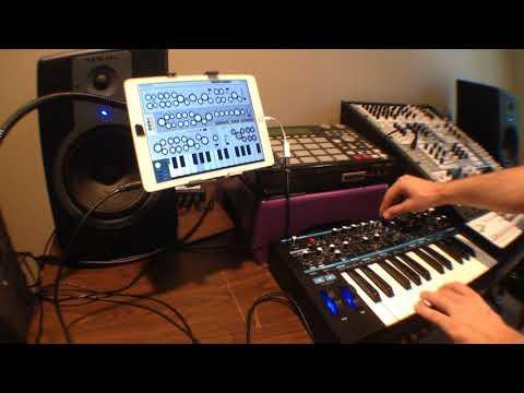 Kronecker Clockwork Synthesizer - iOS App Review - Midiverse - TV