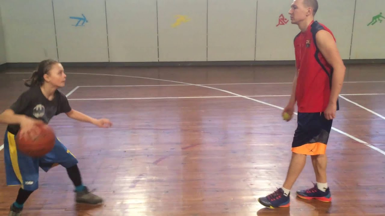 Малышка на миллион. Тренировка по баскетболу. Basketball Training. Школа Баскетбола Playmaker