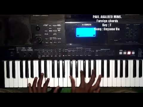 Sweet Ghana worship chords ( Foreign chords part 4)