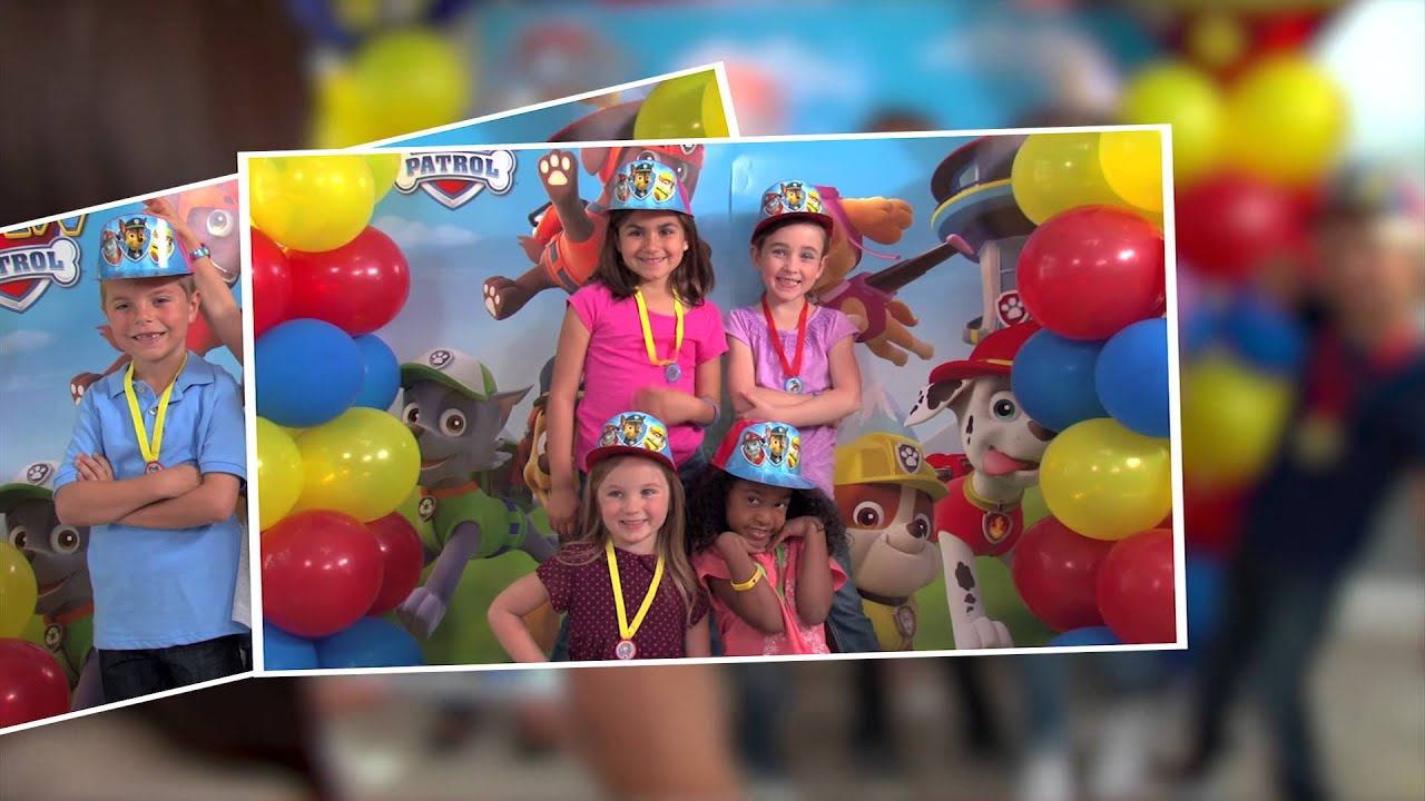 Paw Patrol Birthday Party Ideas City