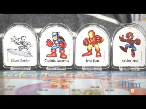 Marvel Super Hero Squad Chutes And Ladders From Hasbro Youtube