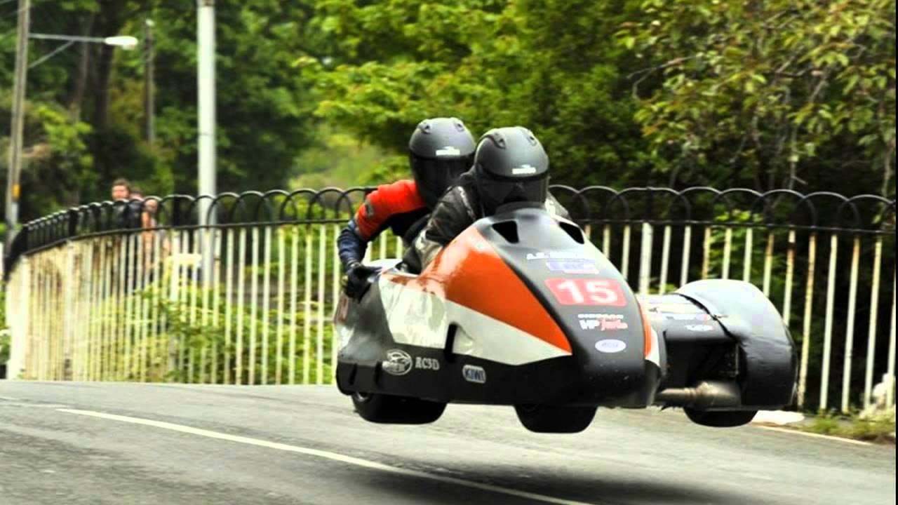 Iom Tt 2013 Team France Side Car Youtube