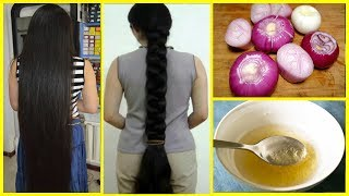 How To Grow Long & thicken Hair Naturally and Faster