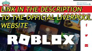 HOW TO GET THE ROBLOX LIVERPOOL SCARF PROOF AND IS NOW OBTAINABLE!!! PROMO CODE!!! HURRY!!!