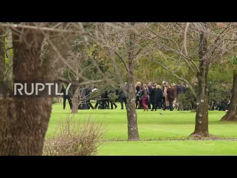 Argentina: Dutch royal family members attend funeral of Queen Maxima's father