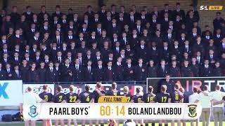 Schools Rugby - Paarl Boys High vs Boland Landbou