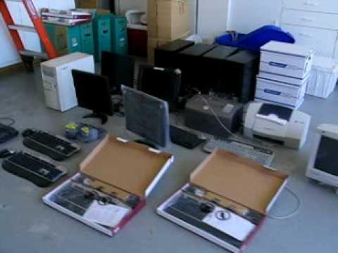 computers from chiropractor office in pleasanton going to  Sunol Glen Elementary School
