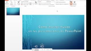 PowerPoint 2013: Cómo agregar música a tus presentaciones de PowerPoint thumbnail
