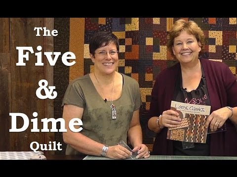 Make the Five & Dime Quilt with Kansas Troubles! - YouTube