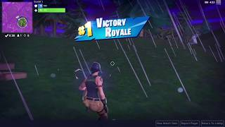 Fortnite Player Wins Battle Royale Without Firing a Shot (First) - J5