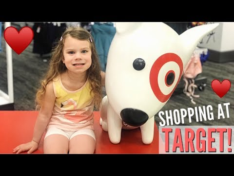 TARGET SHOPPING + ROOT BEER FLOATS!