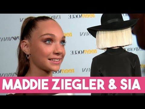 Maddie Ziegler's SECRET Project with Sia REVEALED