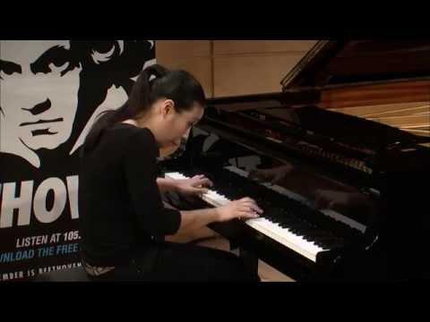 "Joyce Yang: Beethoven Sonata No  18 in E flat Major, Op  31, No  3, ""The Hunt"""