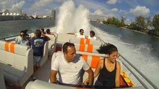 Thriller Speedboat Ride Miami Beach & VIP Villas