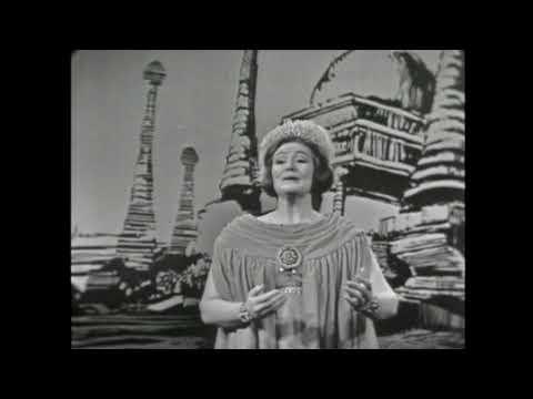 Joan Sutherland - Semiramide: Bel raggio lusinghier (Operatic Scenes 1963)