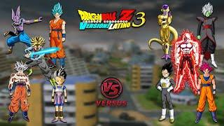 BATALLAS EPICAS [P. 49] - Dragon Ball Z Budokai Tenkaichi 3 Version Latino