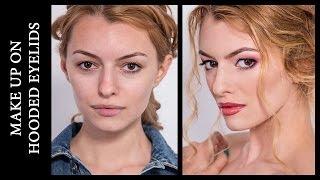 """Видео-урок """"Особенности макияжа для нависших век"""" \ Make Up on Hooded Eyelids"""