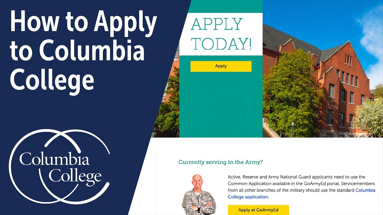 how to apply to columbia college how to apply to columbia college
