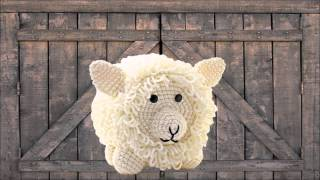 Sheep ~ Amigurumi Crocheted Toilet Paper Cover